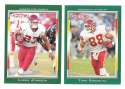 2006 Topps Total Football Team Set - KANSAS CITY CHIEFS