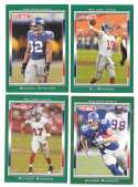 2006 Topps Total Football Team Set - NEW YORK GIANTS