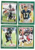2006 Topps Total Football Team Set - SAN DIEGO CHARGERS