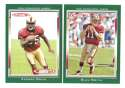 2006 Topps Total Football Team Set - SAN FRANCISCO 49ERS