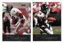 1998 Playoff Prestige Retail Football Team Set - ATLANTA FALCONS