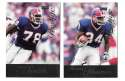 1998 Playoff Prestige Retail Football Team Set - BUFFALO BILLS