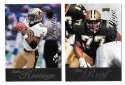 1998 Playoff Prestige Retail Football Team Set - NEW ORLEANS SAINTS