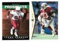 1995 SP (Upper Deck) Football Team Set - ARIZONA CARDINALS