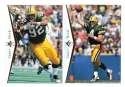 1995 SP (Upper Deck) Football Team Set - GREEN BAY PACKERS