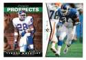 1995 SP (Upper Deck) Football Team Set - NEW YORK GIANTS