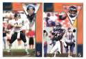 1998 Pacific Aurora Football Team Set - CHICAGO BEARS