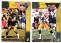 1998 Pacific Aurora Football Team Set - GREEN BAY PACKERS