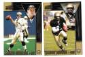 1998 Pacific Aurora Football Team Set - NEW ORLEANS SAINTS