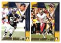 1998 Pacific Aurora Football Team Set - SAN DIEGO CHARGERS