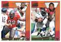 1998 Pacific Aurora Football Team Set - TAMPA BAY BUCCANEERS