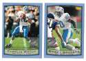 1999 Topps Season Opener Football Team Set - DETROIT LIONS