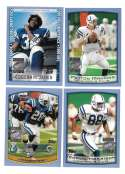 1999 Topps Season Opener Football Team Set - INDIANAPOLIS COLTS