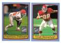 1999 Topps Season Opener Football Team Set - KANSAS CITY CHIEFS