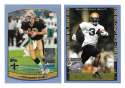 1999 Topps Season Opener Football Team Set - NEW ORLEANS SAINTS