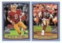 1999 Topps Season Opener Football Team Set - SAN FRANCISCO 49ERS