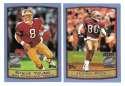 1999 Topps Season Opener Football Team Set - SAN FRANCISCO 49ERS