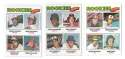 1977 Topps C - 16 card Rookies subset