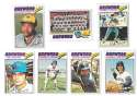 1977 Topps C - MILWAUKEE BREWERS Team Set