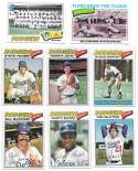 1977 Topps C - LOS ANGELES DODGERS Team Set