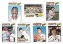 1977 Topps C - SAN FRANCISCO GIANTS Team Set