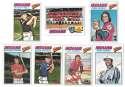 1977 Topps C - CLEVELAND INDIANS Team Set