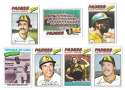 1977 Topps C - SAN DIEGO PADRES Team Set
