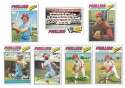 1977 Topps C - PHILADELPHIA PHILLIES Team Set