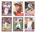 2016 Topps Archives - CLEVELAND INDIANS Team Set