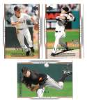 2007 UD ROOKIE OF YEAR Predictor SILVER - SAN FRANCISCO GIANTS Team Set