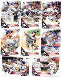 2016 Topps All-Star Game Logo Parallel Set - LOS ANGELES DODGERS Team