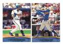 2001 Topps Reserve - TORONTO BLUE JAYS Team Set