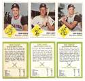 1963 Fleer - KANSAS CITY ATHLETICS / As Team Set