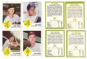 1963 Fleer - CLEVELAND INDIANS Team Set