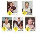 1963 Fleer - PITTSBURGH PIRATES Team Set