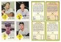 1963 Fleer - WASHINGTON Senators (Rangers) Team Set