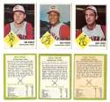 1963 Fleer - CINCINNATI REDS Team Set