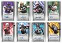 2006 Upper Deck Rookie Debut Football Autograph Near Set 201-260 56/60