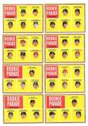 2011 Topps Heritage (1-500) - 8 card short print subset Rookie Parade