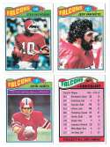 1977 Topps Football (B) Team Set - ATLANTA FALCONS