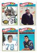 1977 Topps Football (B) Team Set - BALTIMORE COLTS