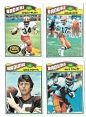 1977 Topps Football (B) Team Set - CLEVELAND BROWNS