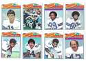 1977 Topps Football (B) Team Set - DALLAS COWBOYS