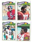 1977 Topps Football (B) Team Set - DENVER BRONCOS