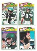 1977 Topps Football (B) Team Set - PHILADELPHIA EAGLES