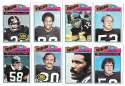 1977 Topps Football (B) Team Set - PITTSBURGH STEELERS