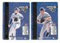 2000 MLB Showdown Pennant Ed 1st Ed w/o Foils TORONTO BLUE JAYS