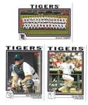 2004 TOPPS - DETROIT TIGERS Team Set