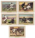 1911 Turkey Red T3 Reprints - 5 card combo lot