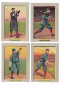 1911 Turkey Red T3 Reprints - CINCINNATI REDS Team Set